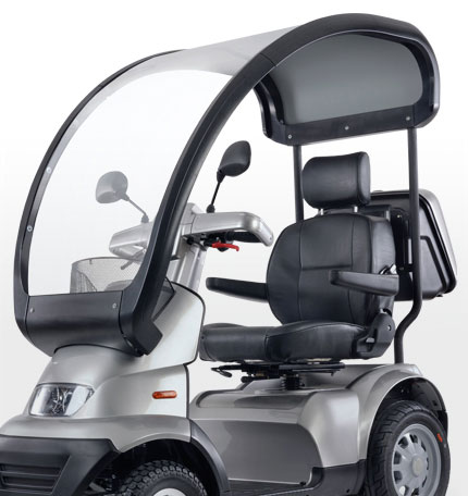 integral canopy for Afikim Breeze S4 mobility scooter