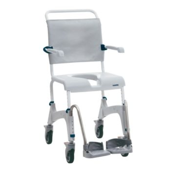 Mobile commode chair