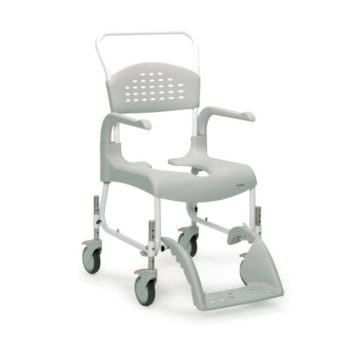 Etac heigh adjustable mobile shower commode