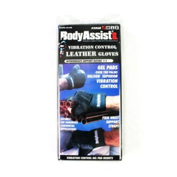 Body Assist vibration control leather gloves