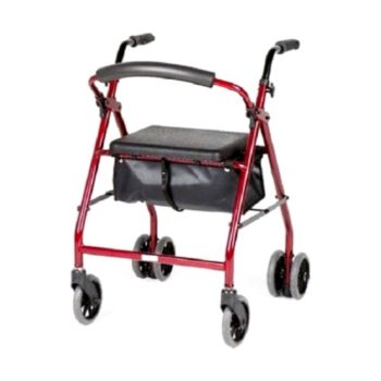 Ellipse weight activated rollator