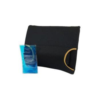 Peak lumbar with gel insert cushion