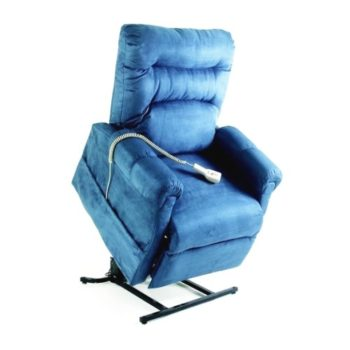 Pride C5 electric recliner and lift chair in lift position