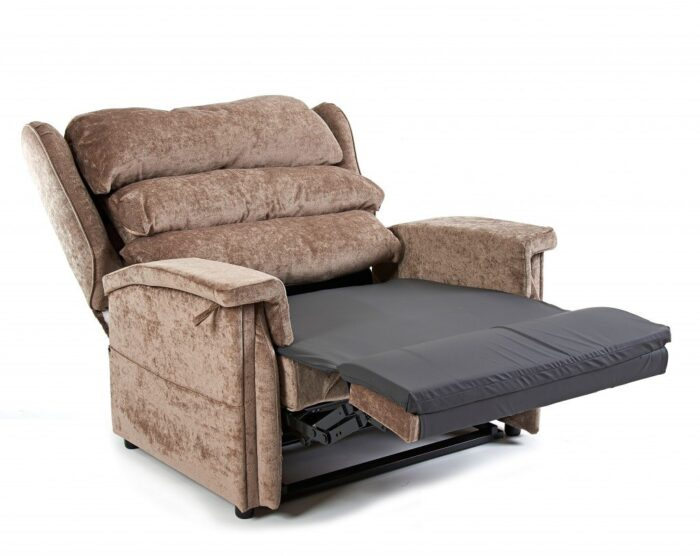 Bariatric Supa recliner chair in reclined position
