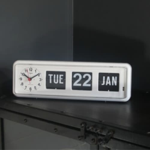 Auto Calendar with Clock