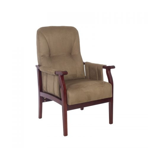 Churchill fixed chair with armrests