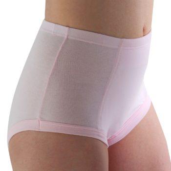 Conni brand women's class pink waterproof, reusable undergarment