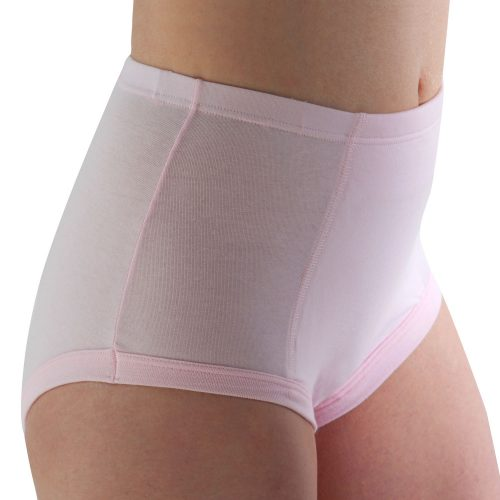 Conni brand women's class pink waterproof, reusable undergarment