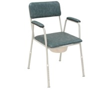 Economy commode for bedside use