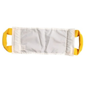 Handi-lift with two handles in bright yellow fabric