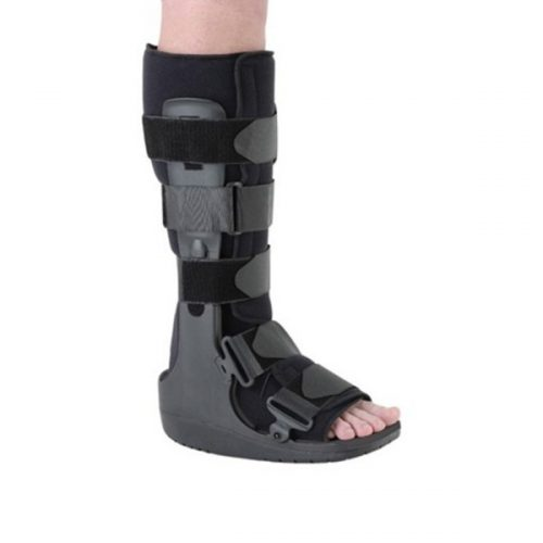 Ossur brand walking boot with walking base