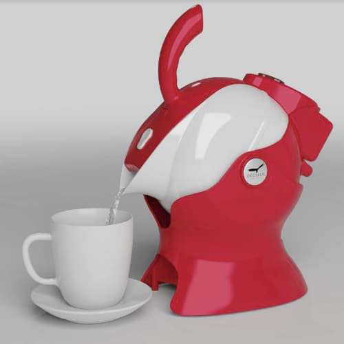 Red Uccello Kettle