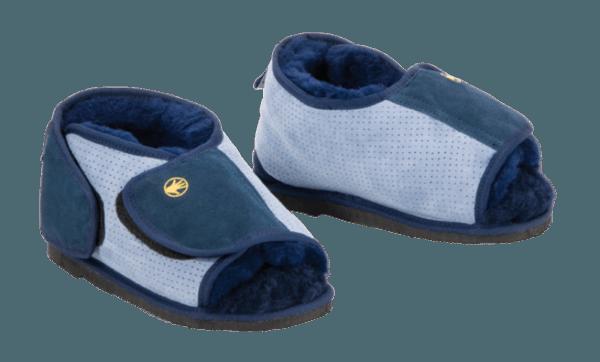 Shear comfort pressure care boots