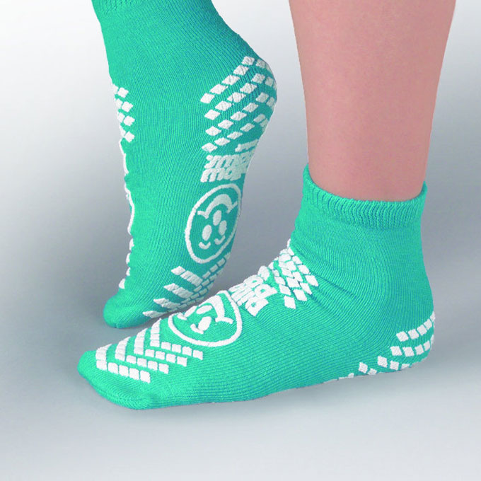 Non-slip socks to help reduce slips and falls
