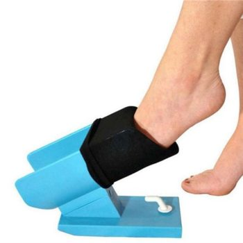 Sock aid for easy on and off application