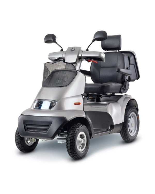 Afikim Breeze Scooter in silver