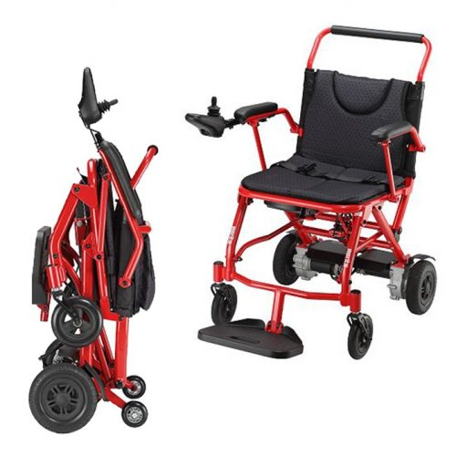 Merits brand compact folding power chair