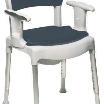 Etac brand commode with height adjustable legs