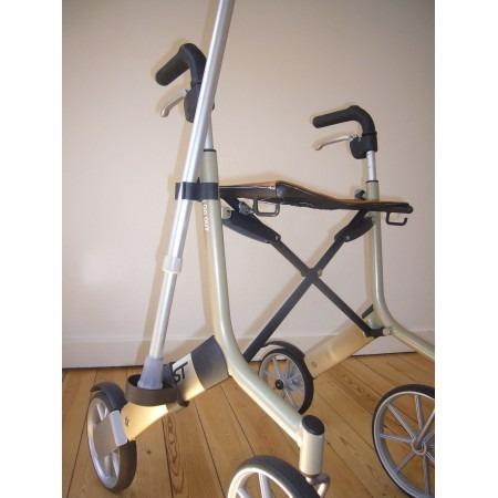 crutch holder for let's go brand rollator