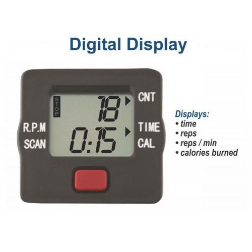pedal exerciser digital display