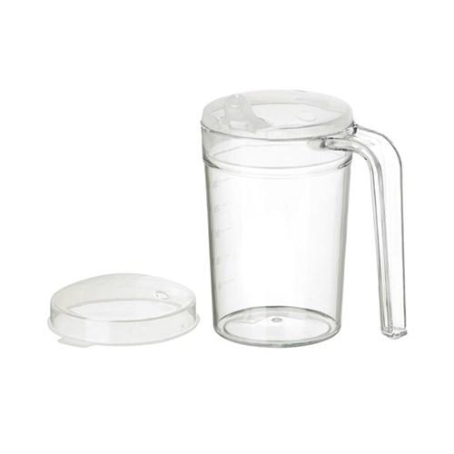 clear polycarbonate mug